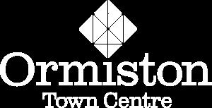 Ormiston Town Centre White Logo